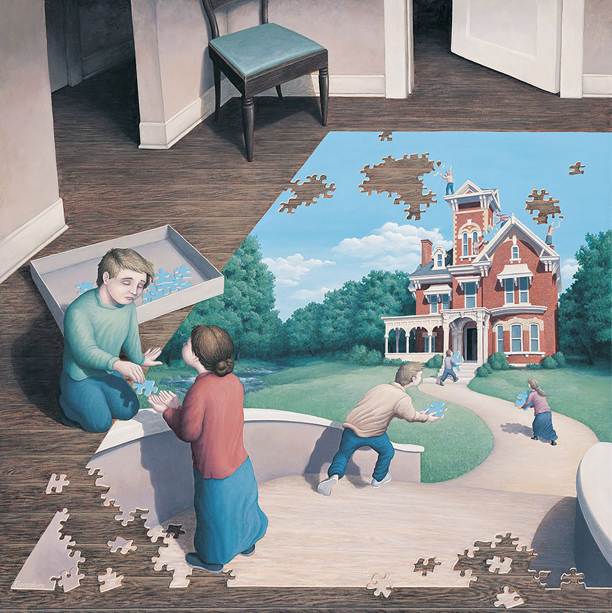 magic realism paintings by rob gonsalves 25