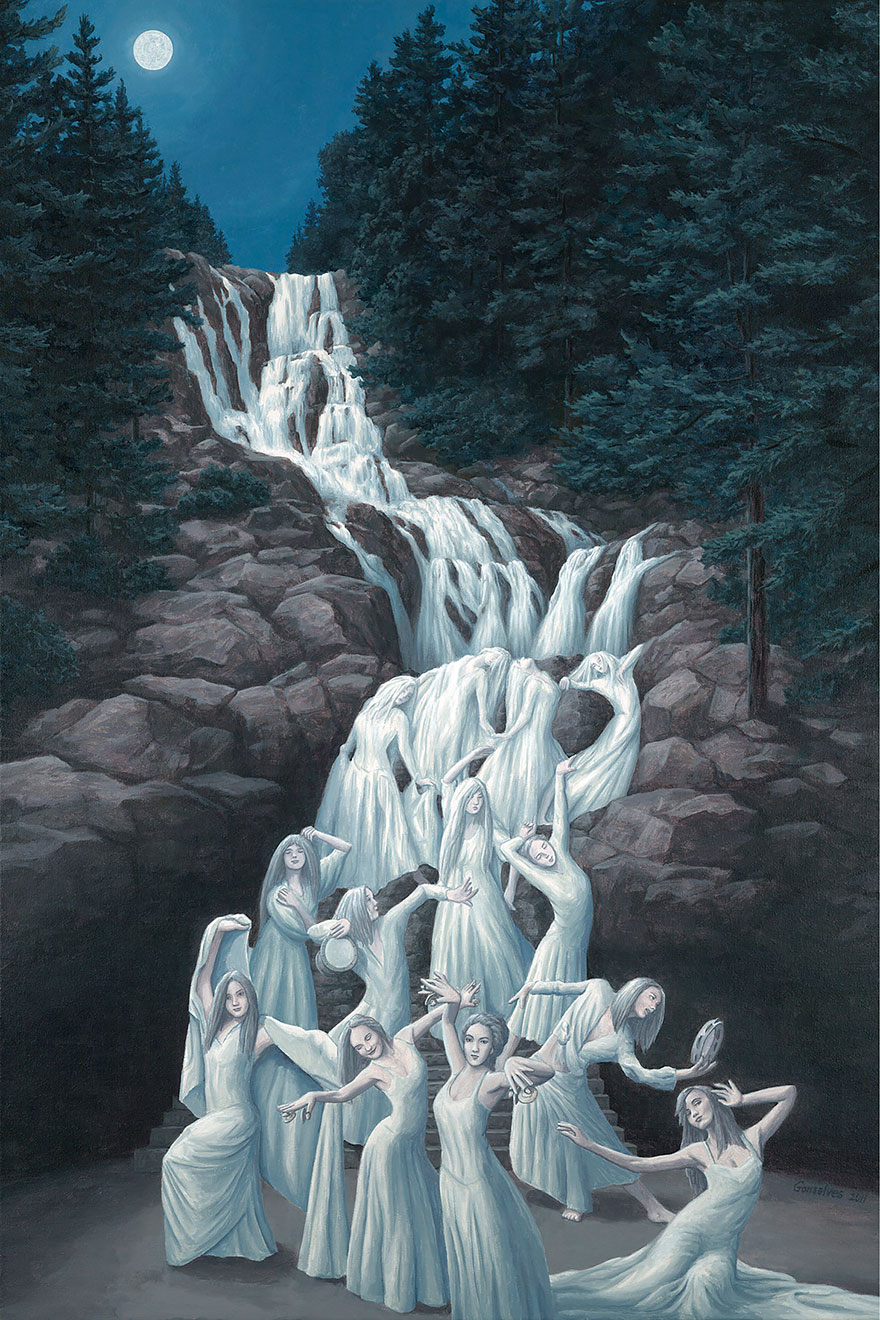 magic realism paintings by rob gonsalves 4