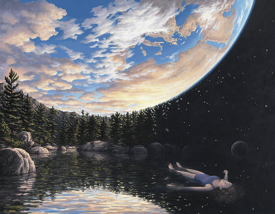 magic realism paintings by rob gonsalves 6