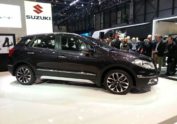 Maruti Suzuki New Car S CROSS SX4 Released Images Photos