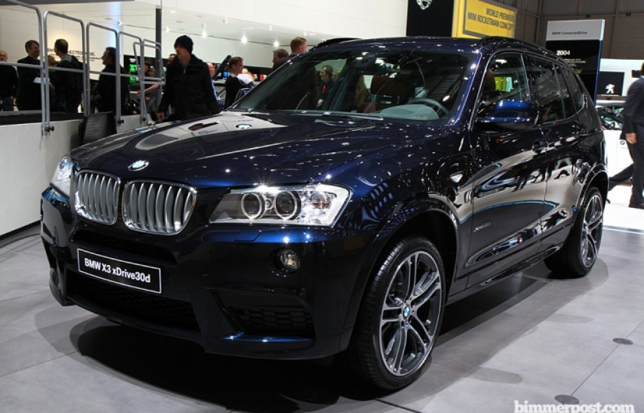 BMW Launch New X3 Model : BMW X3 xDrive30d M Sport