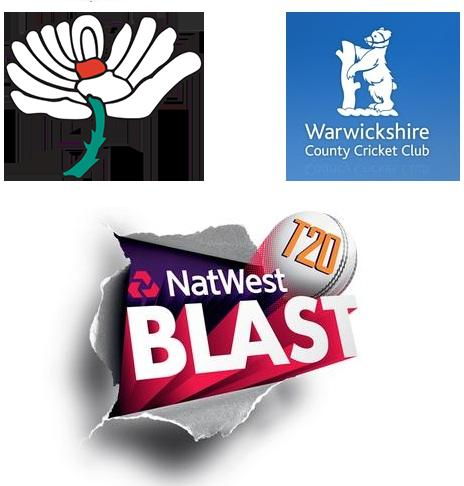 NatWest T20 Blast 2015 Yorkshire vs Warwickshire Match Live Score Team Squad Prediction