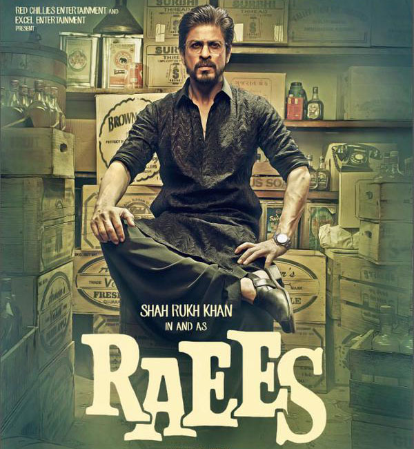 SRK New Upcoming Film Raees First Look & Teaser Released Today