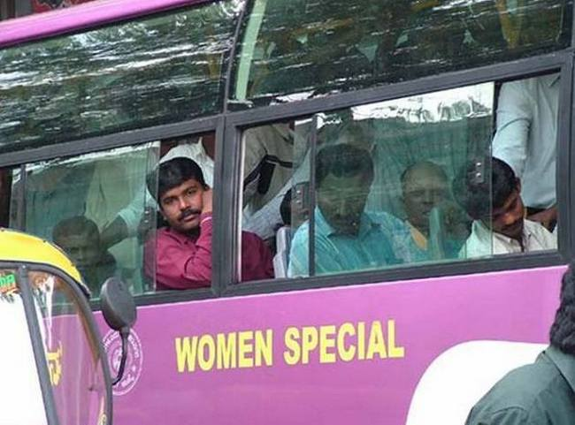 special Bus For ladies