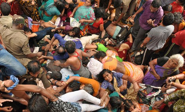 Deaths Flowed At Andhra Pradesh In A Popular Festival Named Pushkaralu