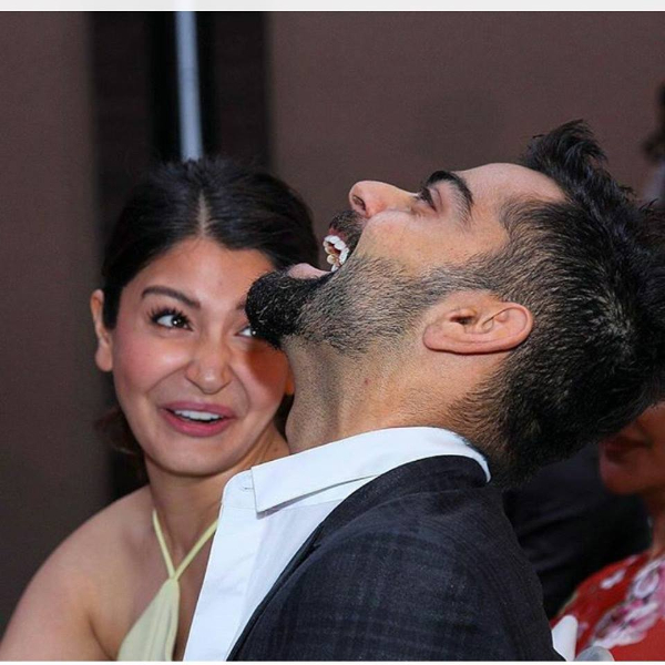 Virat Kohli & Anushka Sharma at Vogue Style Awards