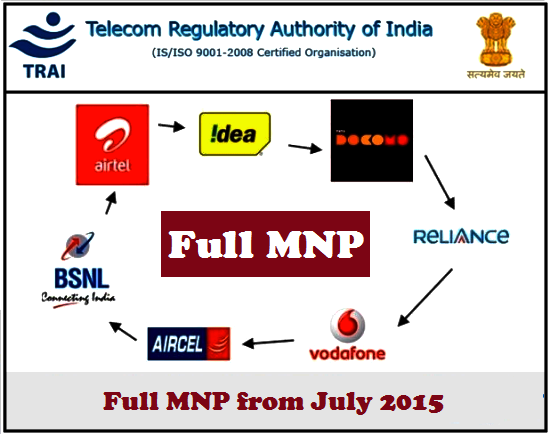 Mobile Number Portability Service Started All Over The India From 3 July 2015