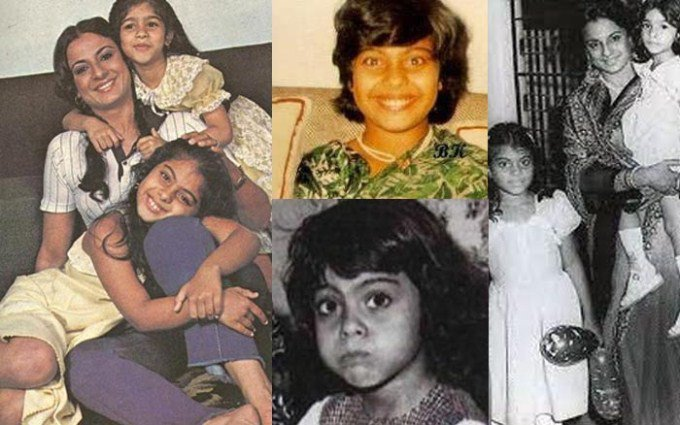 Kajol's Childhood