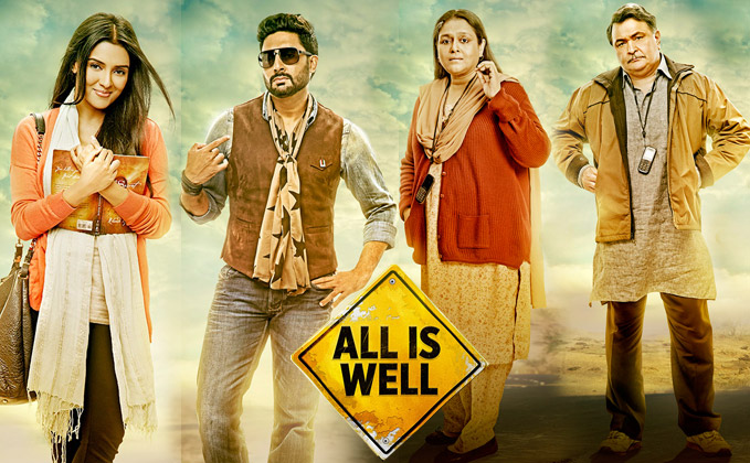 Bollywood all is well movie review rating 1st day box - Bollywood movie box office collection ...