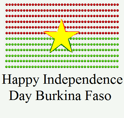 Burkina Faso Independence Day Images Firework FB Whatsapp Status
