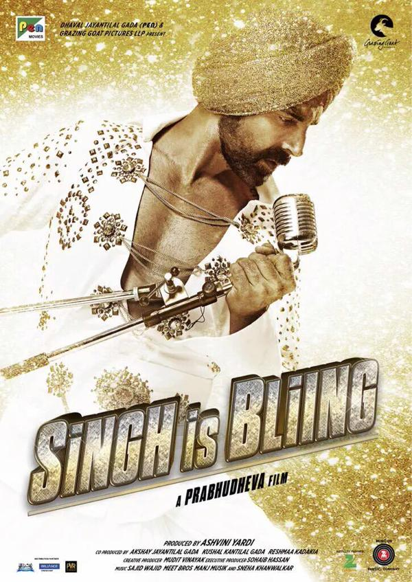 Akshay Kumar Singh Is Bling Movie New Poster Released