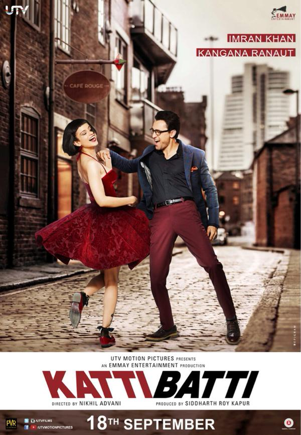 Bollywood Katti Batti Movie New Poster Launched