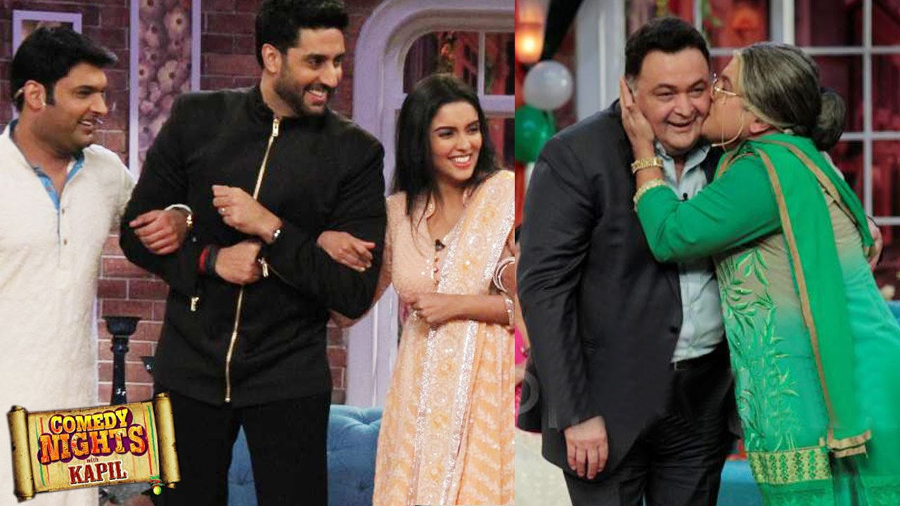 CNWK 23 August Episode Comedy Nights With Kapil Abhishek Bachchan Rishi Kapoor To Promote All Is Well Movie