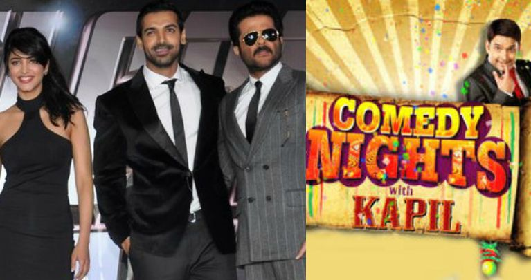 CNWK John Abraham To Rocks In Comedy Night With Kapil To Promote Welcome Back Movie