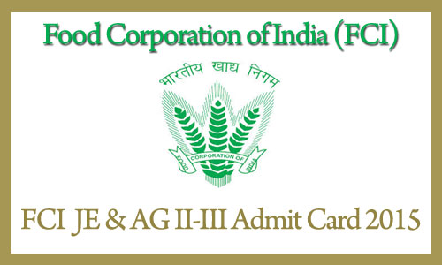 Download FCI North Zone Admit card Syllabus Pattern Exam Date