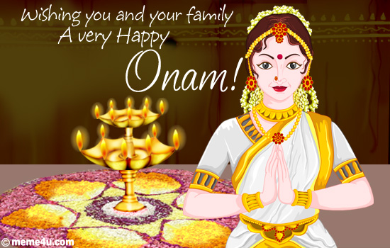 Happy Onam Photos Whatsapp Status FB DP 2015