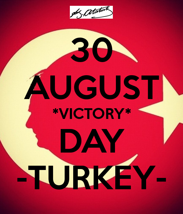 Happy Victory Day Turkey Flags Celebrations Images Whatsapp Status FB DP