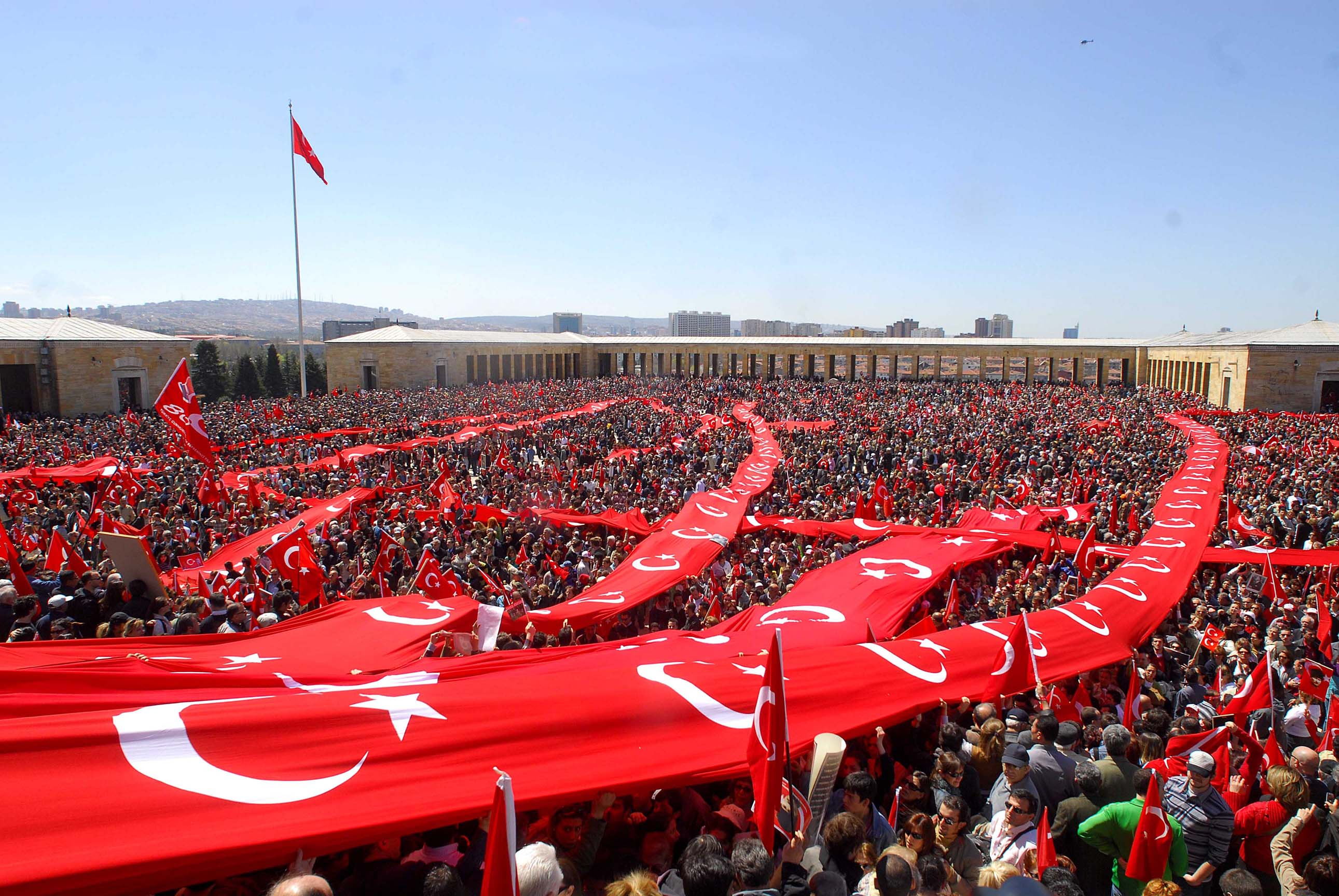 Happy Victory Day Turkey Flags Celebrations Images