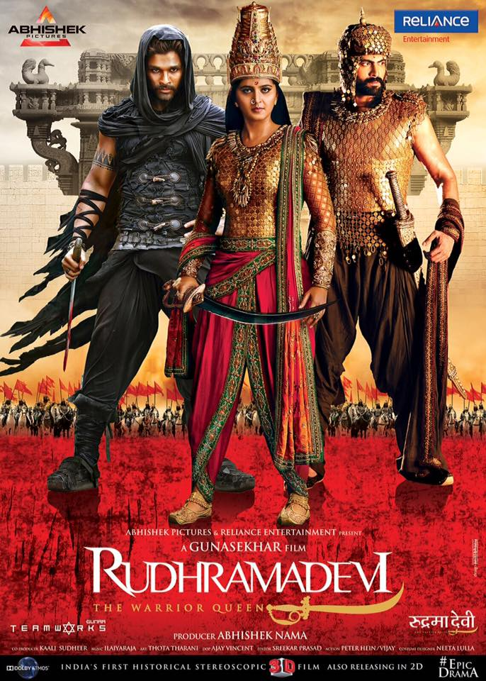 Historical Rudhramadevi Movie To Release In Hindi Version