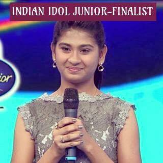 Indian Idol Junior finalist