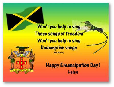 Bolivia Jamaica Independence Day Wishes Quotes Celebration - Jamaica independence day