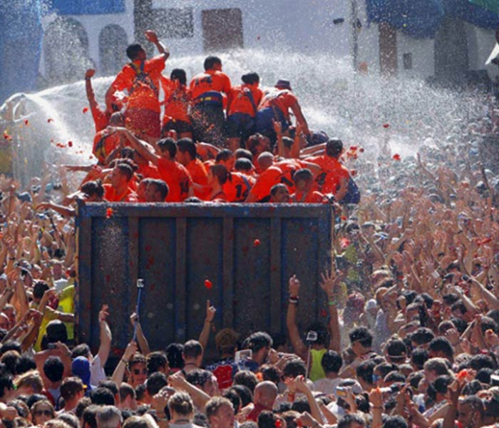 La Tomatina Festival Images Photos Pic