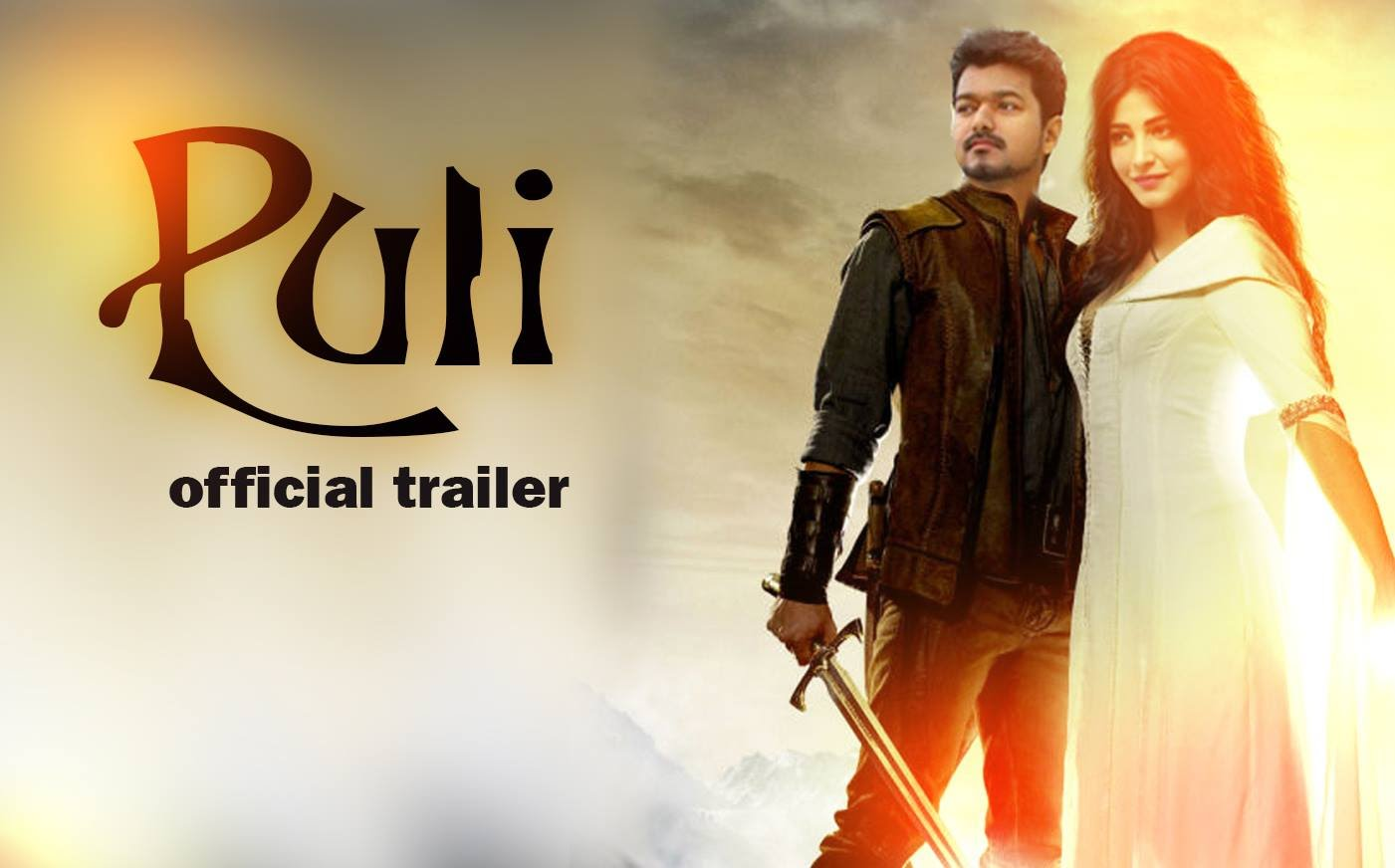 Mega Budget Puli Movie Trailer HD Video Released
