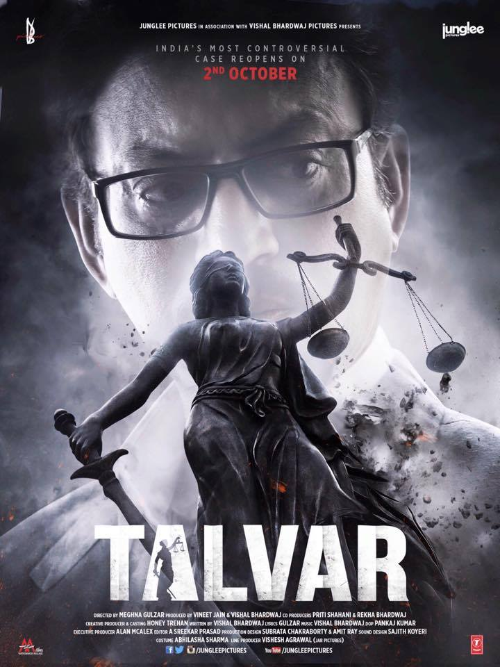 Bollywood Talvar Movie First Look Poster Released