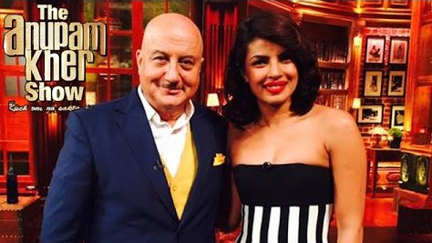 The Anupam Kher Show Season 2 Details Priyanka Chopra Is The 1st Guest 2015