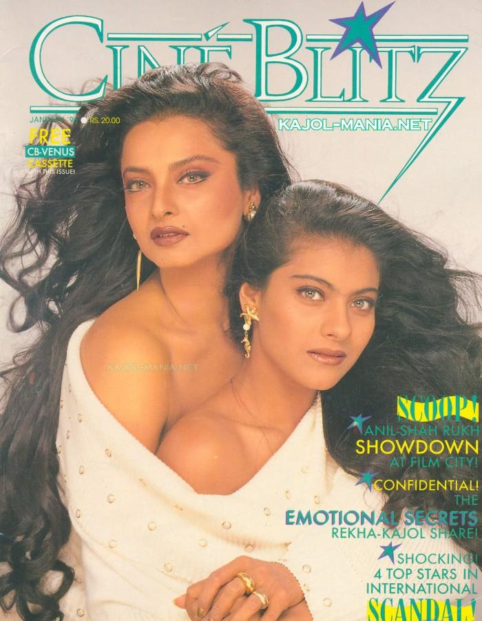 Rekha With Kajol