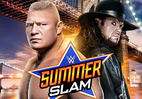 WWE Summer Slam Brock Lesnar vs Undertaker Fight Winner Result Prediction