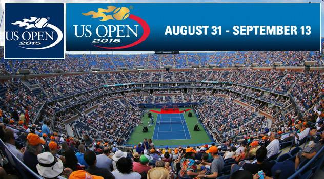 Watch Opening Night US Open 2015 Tennis Round 1 Men & Womens Single Matches Live Score Streaming
