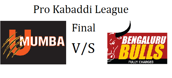 Watch Pro Kabaddi 2015 Final Match Mumbai vs Bangalore Live Score Who Win Result