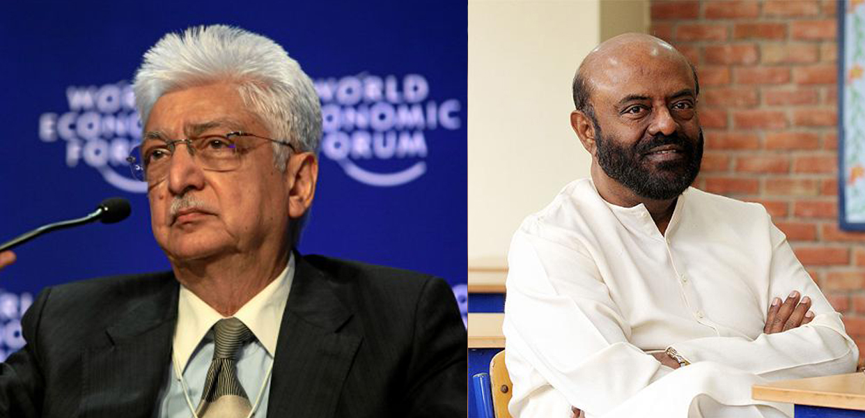 Wipro Chairman Azim Premji & HCL Co Founder Shiv Nadar 1st Ever List Of 100 Richest People