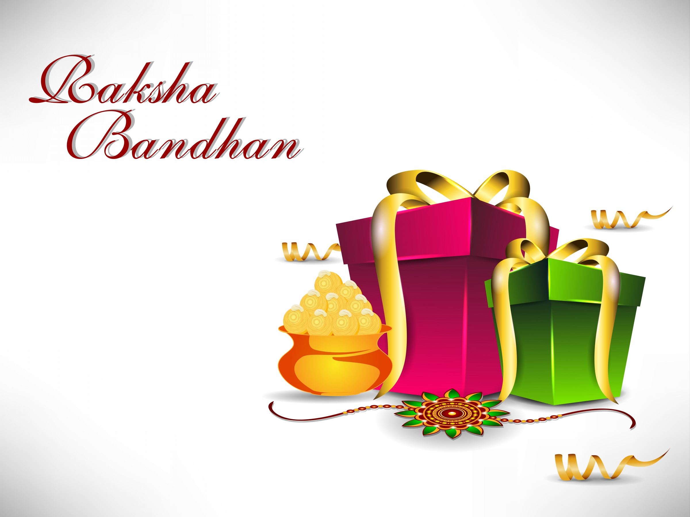 Wish! Happy Raksha Bandhan