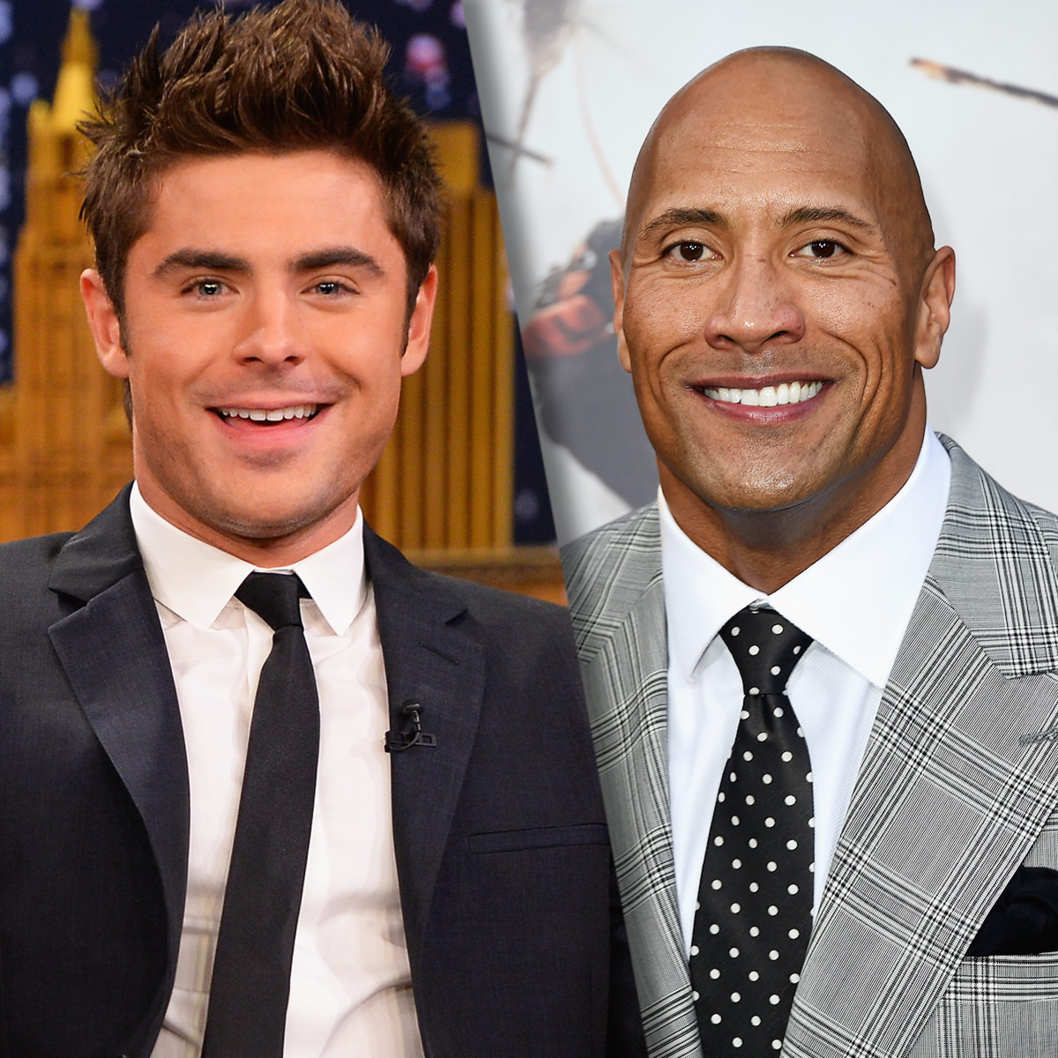 Zac Efron To Join Baywatch Movie Along With Dwayne Johnson