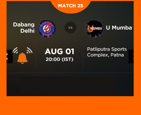 Watch Pro Kabaddi League 2015 Delhi vs Mumbai Match 25 Live Score Result Prediction