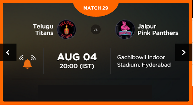 Watch Pro Kabaddi League 2015 Hyderabad vs Jaipur Match 29 Live Score Result Prediction