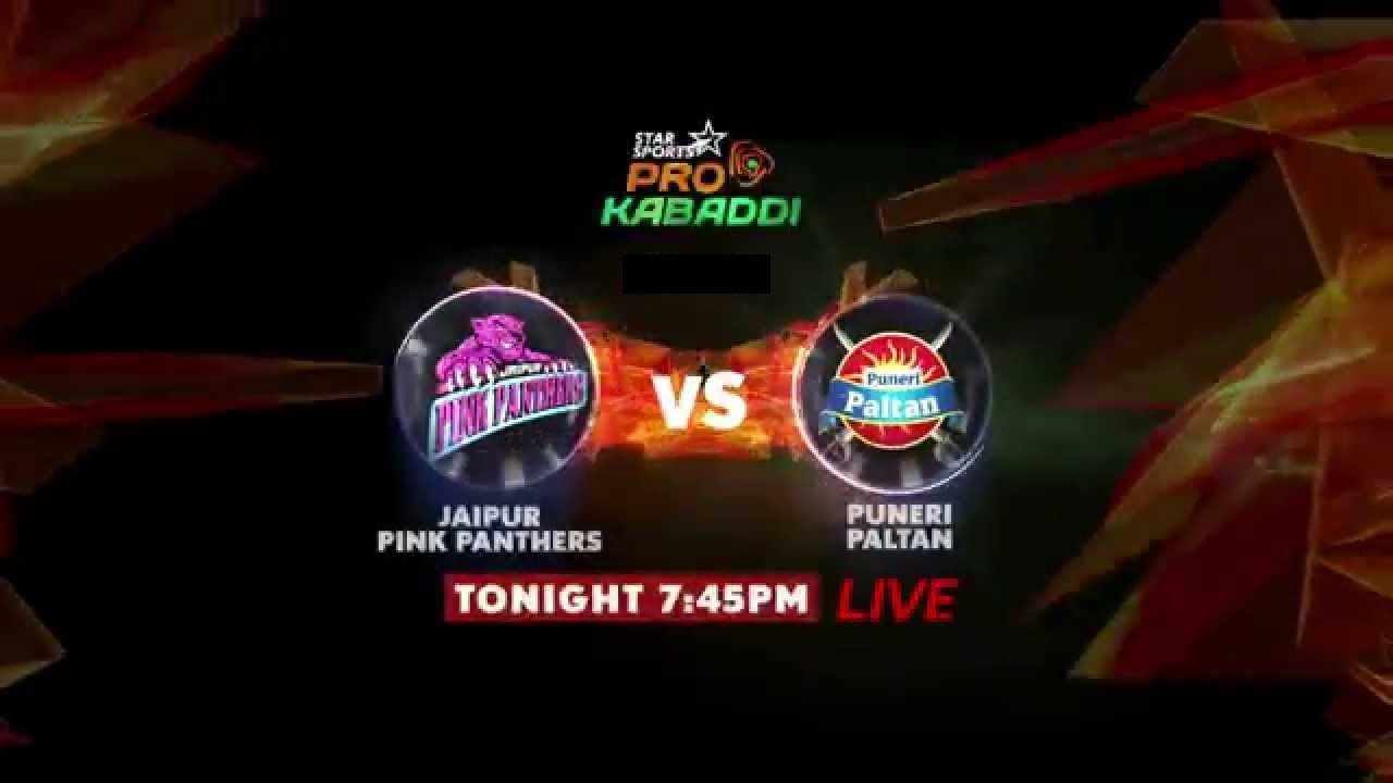 Watch Pro Kabaddi League 2015 Pune vs Jaipur Match 27 Live Score Result Prediction