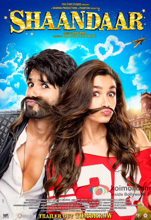 Watch Shaandaar Official Trailer