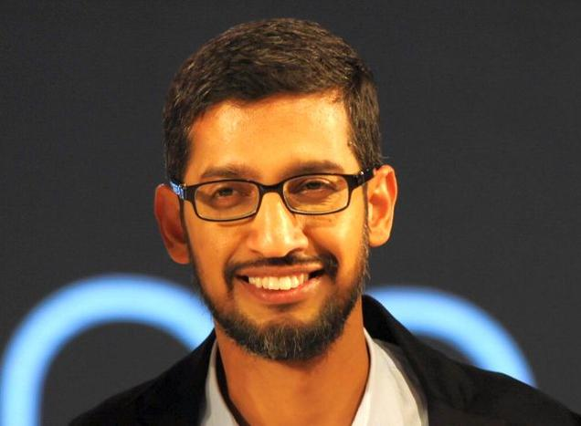 sundar pichai new ceo of google