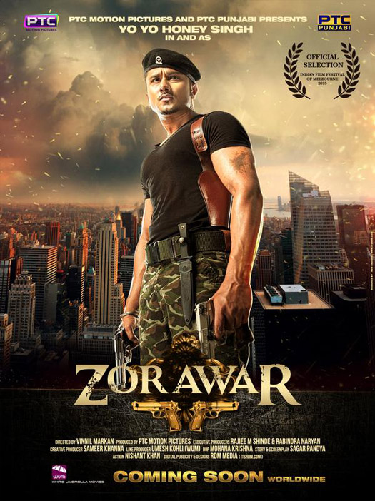 Yo Yo Honey Singh Zorawar Movie New Poster Released