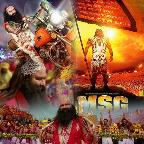 1st Week MSG 2 Movie 6th 7th Day Box Office Collection