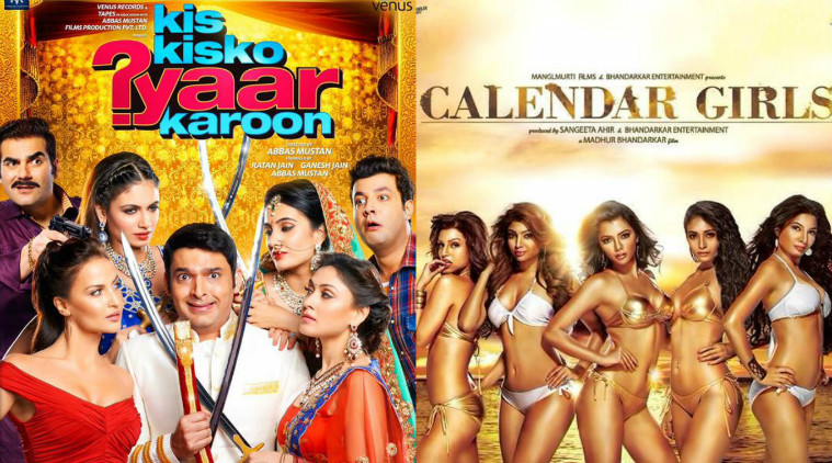 1st Weekend Calendar Girls & Kis Kisko Pyar Karu Movie 2nd 3rd Day Box Office Collection