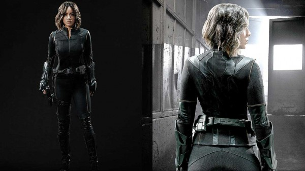 Actress Chloe Bennet Adopt New Quake Costume For Agents of SHIELD