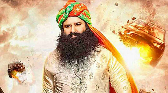 Baba Ram Rahim Will Donate MSG 2 Movie Total Box Office Earning To Acid Attack Victims