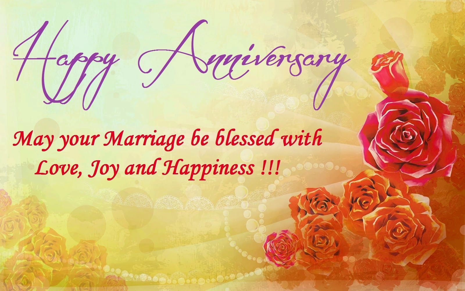Best Happy Wedding Anniversary Greetings Photos