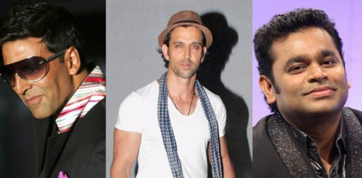 Bollywood Celebrities Hrithik Roshan Akshay Kumar & A.R.Rahman To Join Global Goals Campaign