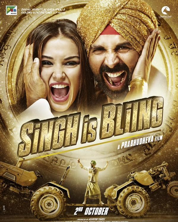 SIB Film 1st Weekend Singh Is Bling Movie 3rd 4th 5th Day Box Office Collection