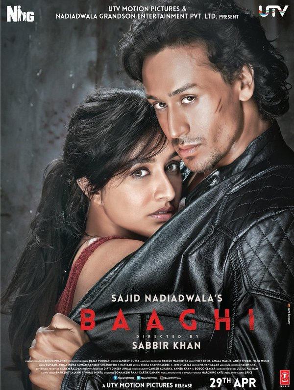 Brand new poster of Shraddha Kapoor& Tiger Shroff's Baaghi